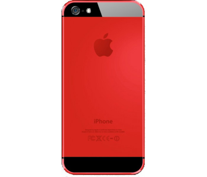 blade 5 aluminum case red for apple iphone 5 amp 5s tc21407
