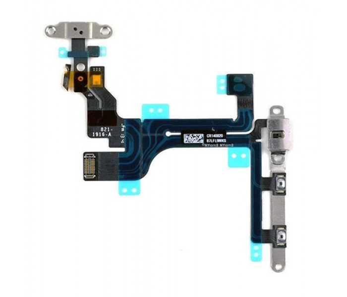5c Control Cable : Iphone c audio control and power button flex cable
