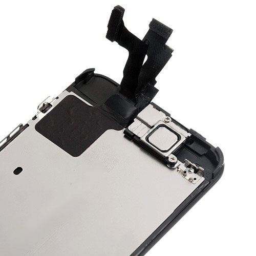 how to fix a black screen iphone 5c