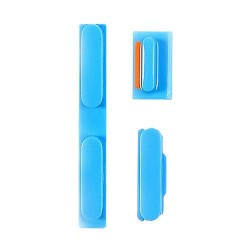 iPhone 5C Mute, Volume and Power Buttons (Blue)
