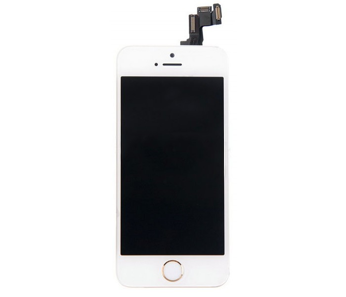 iPhone 6 LCD Screen Digitizer with Camera & Home Button (White)