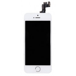 iPhone 5S LCD Screen with Front Camera & Home Button - White