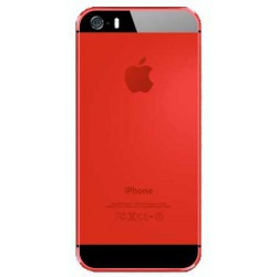 iPhone 5S Back Housing Color Conversion - Red
