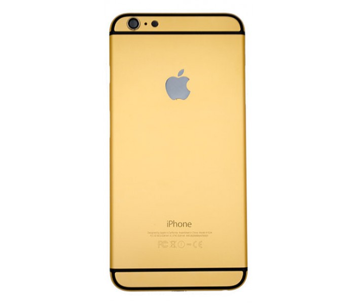 iPhone 6 Plus Aluminum Back Housing Color Conversion - Golden
