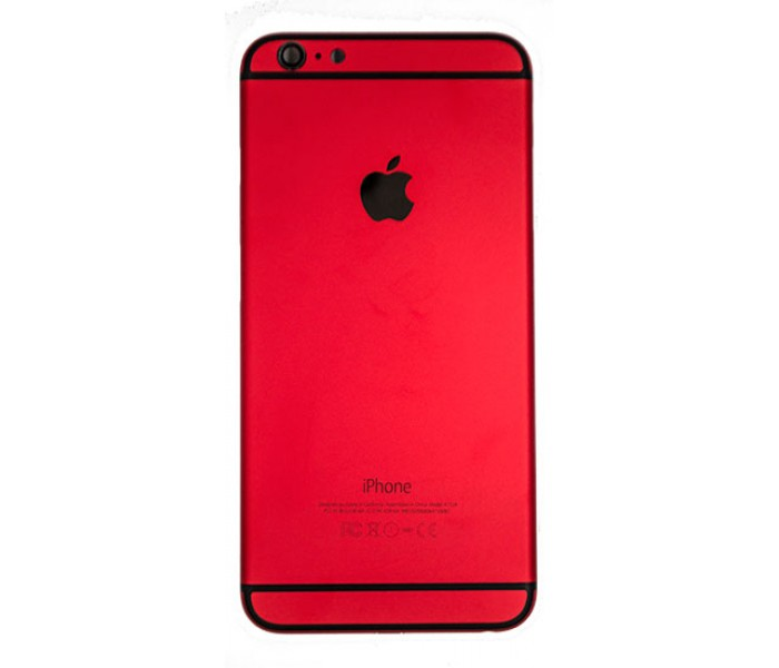 iPhone 6 Plus Back Housing Color Conversion - Red