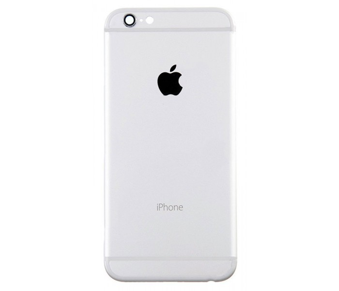 hot sale online 0eb73 688bb iPhone 6 Plus Back Housing Replacement (Silver)