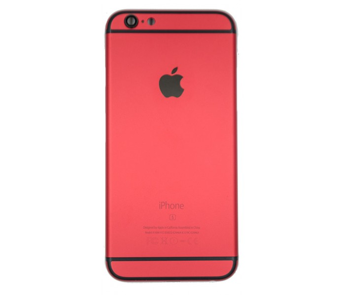 iPhone 6S Back Housing Color Conversion - Red