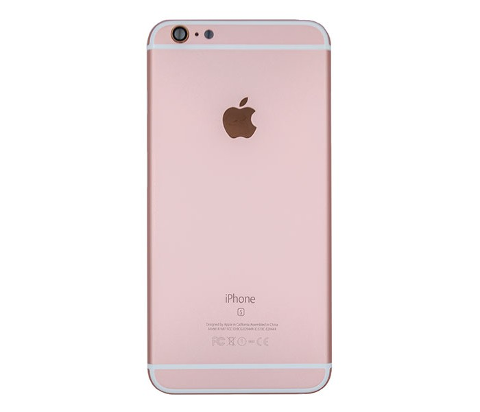 iphone 6s back housing replacement rose gold. Black Bedroom Furniture Sets. Home Design Ideas