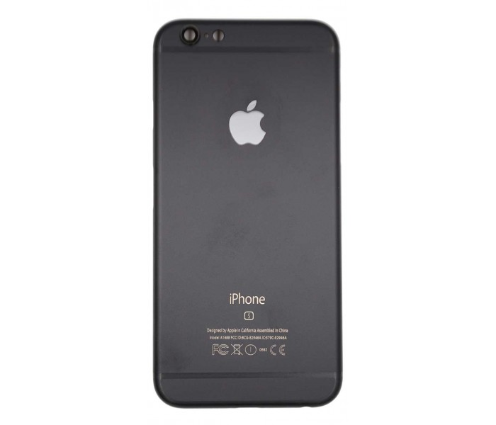 iphone 6s back housing color conversion matte black. Black Bedroom Furniture Sets. Home Design Ideas