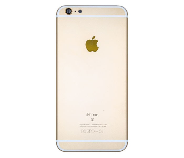 outlet store e1395 bf6e1 iPhone 6S Back Housing Replacement (Gold)