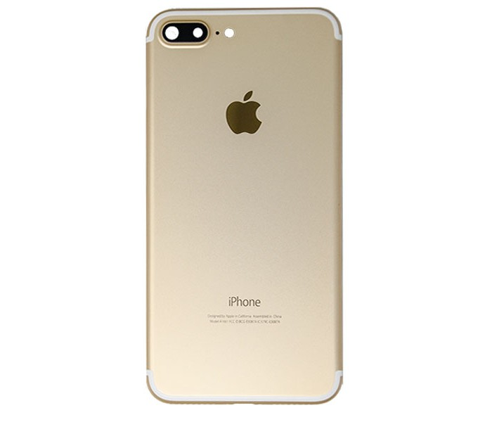 iphone 7 plus back housing gold. Black Bedroom Furniture Sets. Home Design Ideas