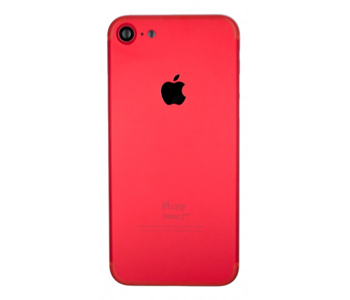 newest a1744 8d1ab iPhone 7 Back Housing (Red)