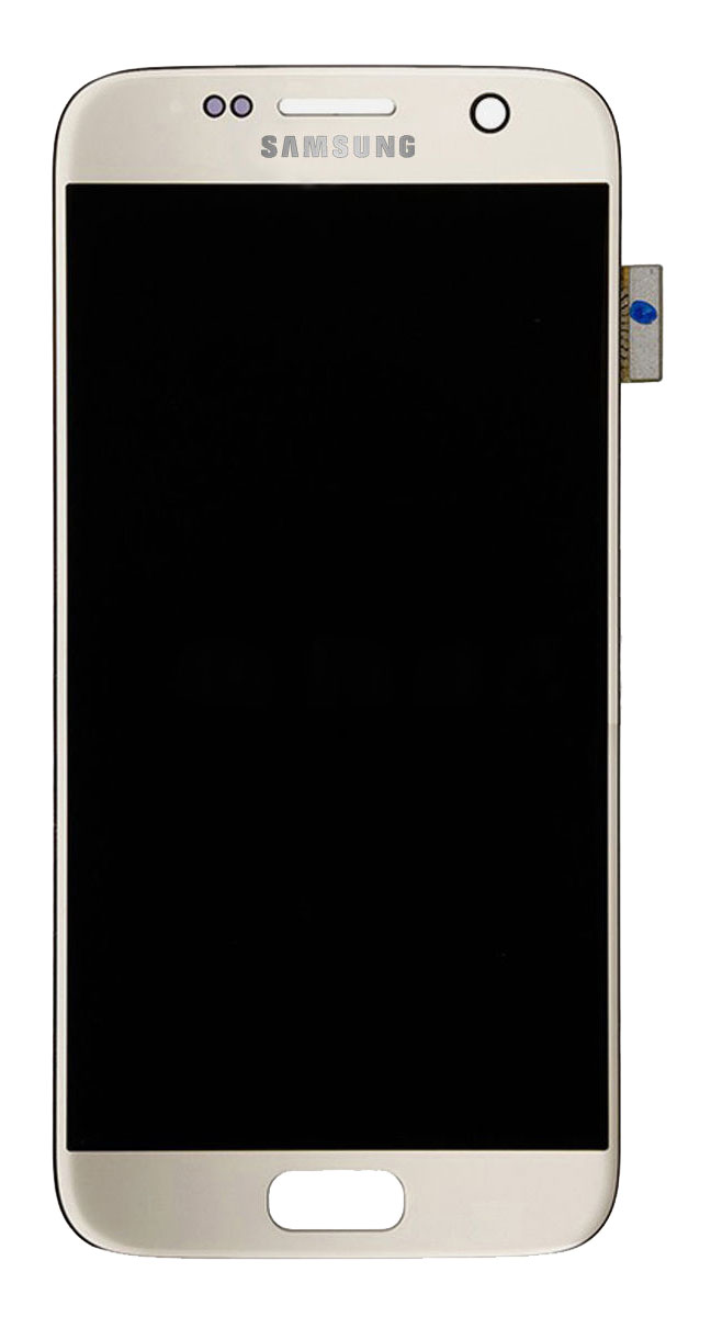 Samsung Galaxy S7 LCD Digitizer Touch Screen (Gold, Original)